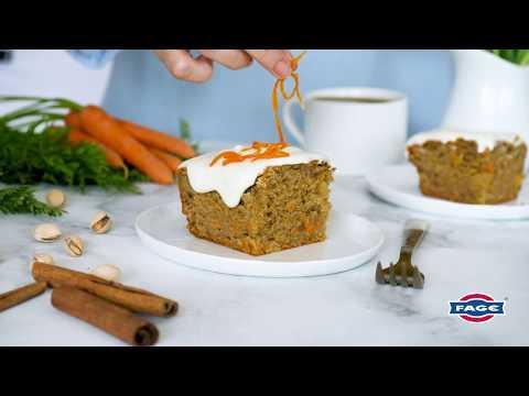 Carrot Ginger Cake with Greek Yogurt Frosting Recipe