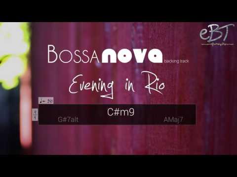 Bossa Nova Backing Track in C# Minor | 140 bpm
