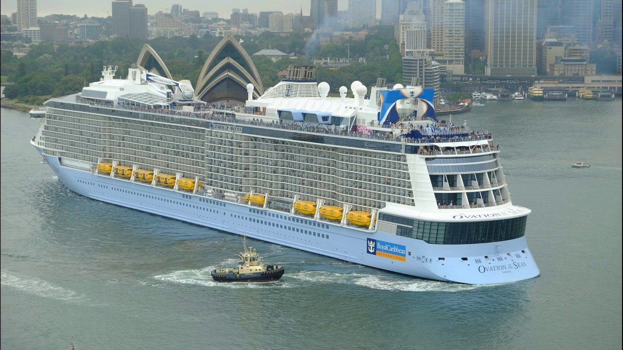 Ovation Of The Seas Inaugural Sydney Departure 16 Dec 2016