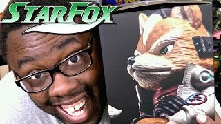 STAR FOX Limited Edition Fox McCloud Statue UNBOXING