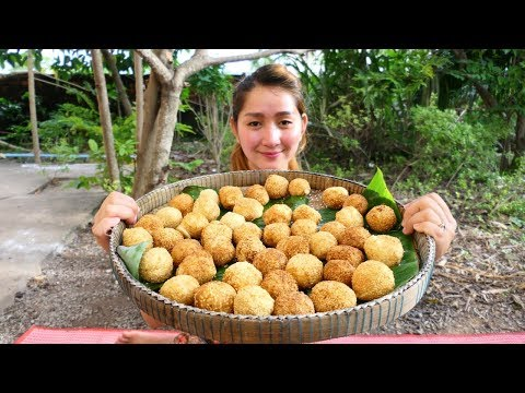 Yummy Cheese inside Potato Ball Cake – Cheese Cake – Cooking With Sros