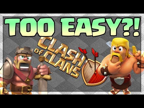 TOO EASY?  Clash of Clans 2018 Updates - What's the FUTURE?