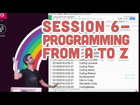 Live Stream #64: Session 6 - Programming from A to Z