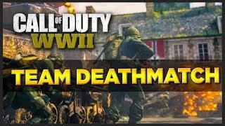TEAM DEATHMATCH! C.O.D WW2 Livestream #1