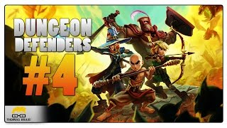 Dungeon Defenders - |#4| - Porazíme bosse?! | Český Gameplay | 1080p [PC]