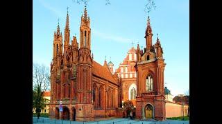 Вильнюс.Как город оказался под 10-12 метровым культурным слоем?