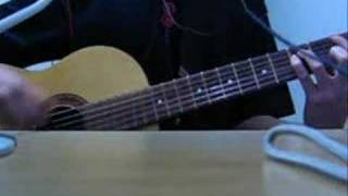 Me playing Aqua Timez's song Alones on acoustic guitar. COMPLETE ve...
