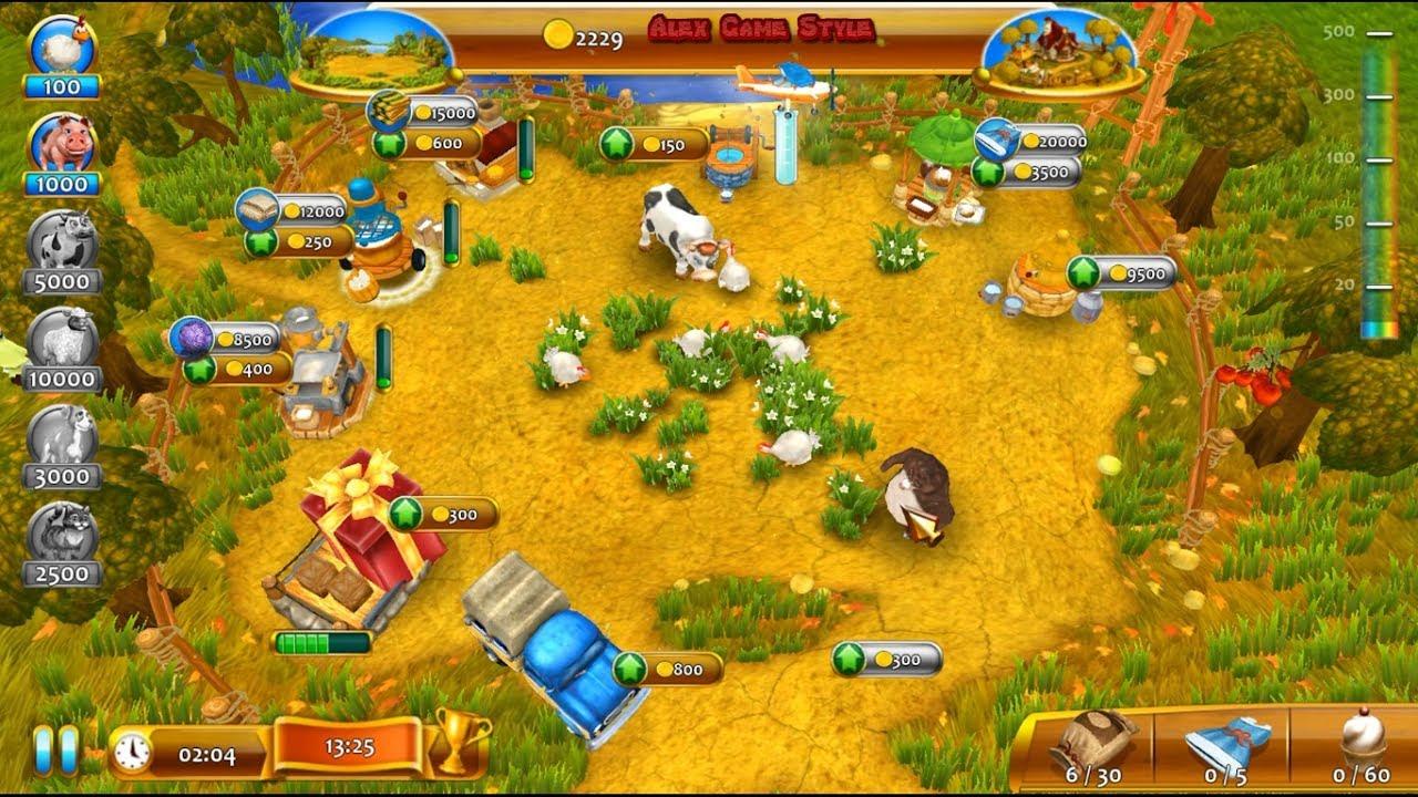 Farm Frenzy 4 (Confectioner Level 7) only GOLD Веселая ферма 4 (Кондитер  Уровень 7) Золото