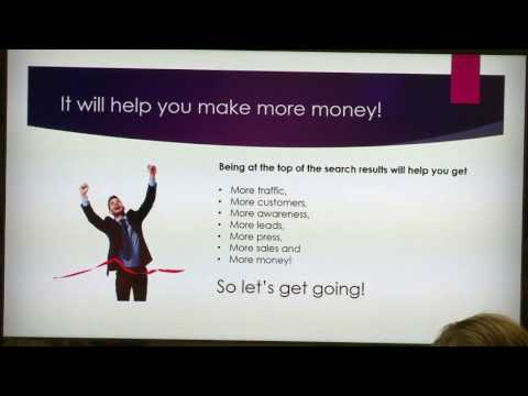 Search Engine Optimization with Mandy Marksteiner