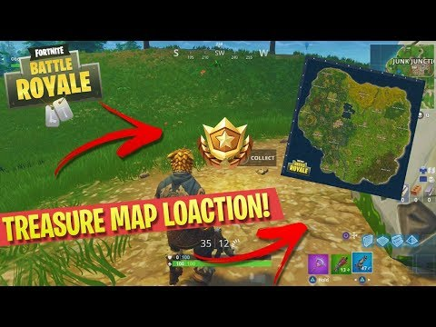 Fortnite: Follow The Treasure Map Found in Anarchy Acres Location!