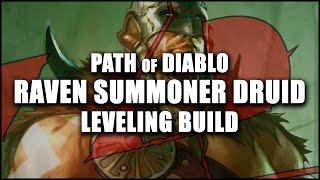 Path of Diablo: Raven Summoner Druid - Beginner-Friendly Levelling Build (Diablo 2 Modded)