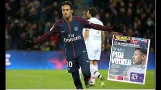 Neymar tells PSG he wants to return to Barcelona