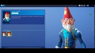 Fortnite *NEW* GRIMMBI Skin - GRIMBLES Skin / Cold Snap Axe - Cold Snap Axe Itemshop 23.12.2018