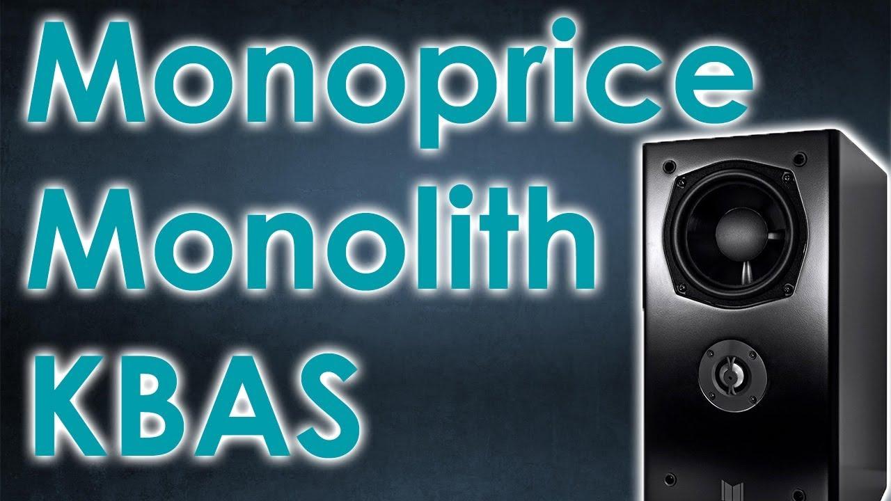 Monoprice Monolith K Bas Speaker Review Reupload Youtube