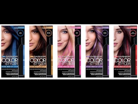 Garnier Color Styler Review And Demo Youtube