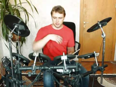 Как играть на барабанах - развитие скорости рук (урок 7)