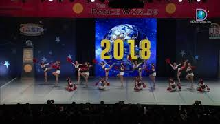 Silver Wings Aile - Wing Dance Promotion (Japan) [2018 Senior Large Pom Finals]