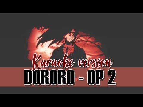 DORORO - DORORO (2019) OP 2 [KARAOKE VERSION | OFF VOCAL/ASIAN KUNG-FU GENERATION]🌙