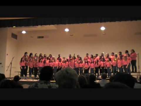 el cerrito middle school last 2010 concert (we are the world )