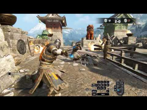 For Honor Closed Beta w/ Inputs - Kensei matches vs FTE-Feint and FTE-Oxidize