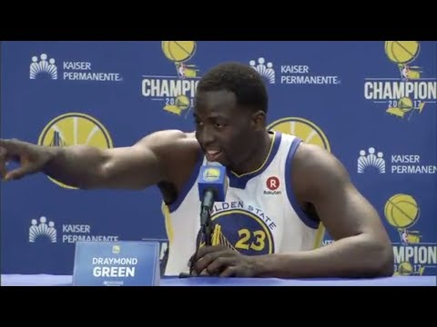 Draymond Green laughed in Kevin Durant's face over Twitter fiasco | ESPN