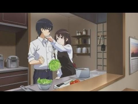 Kato & Tomoya Spend the Night Together! - Saenai Heroine no Sodatekata Flat [Episode 8]