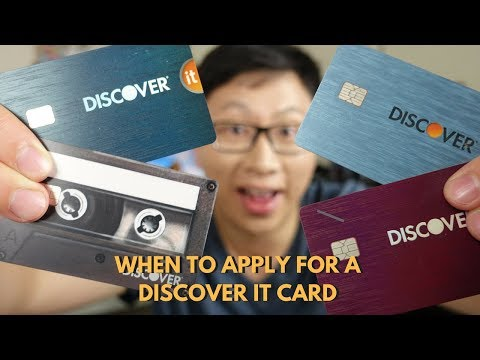 When Is The Best Time To Apply For Discover It Card