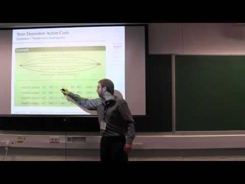 ICAPS 2016: Planning with State-Dependent Action Costs