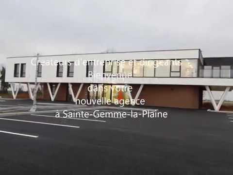 visitez l 39 agence de sainte gemme la plaine youtube. Black Bedroom Furniture Sets. Home Design Ideas