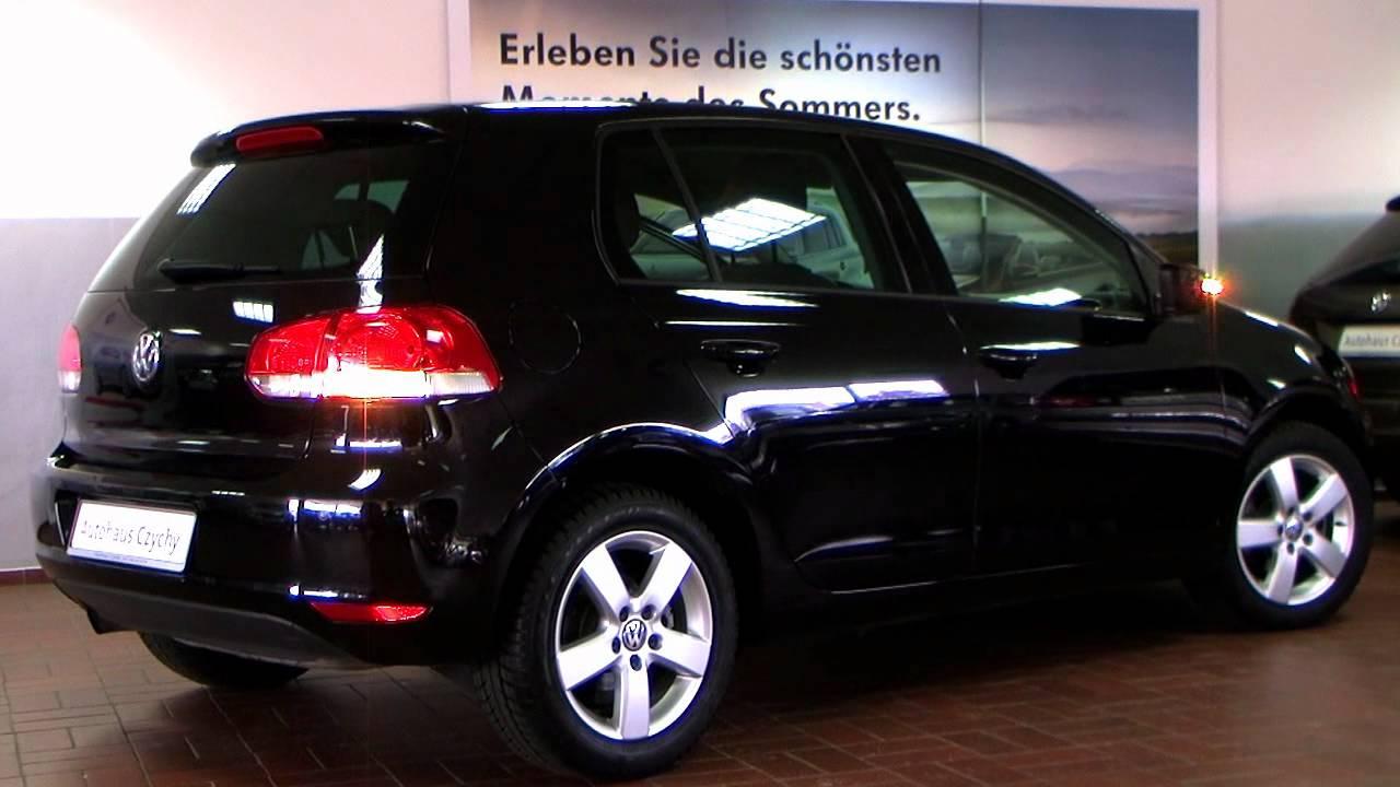 volkswagen golf vi 1 2 tsi comfortline 2010 deep black. Black Bedroom Furniture Sets. Home Design Ideas
