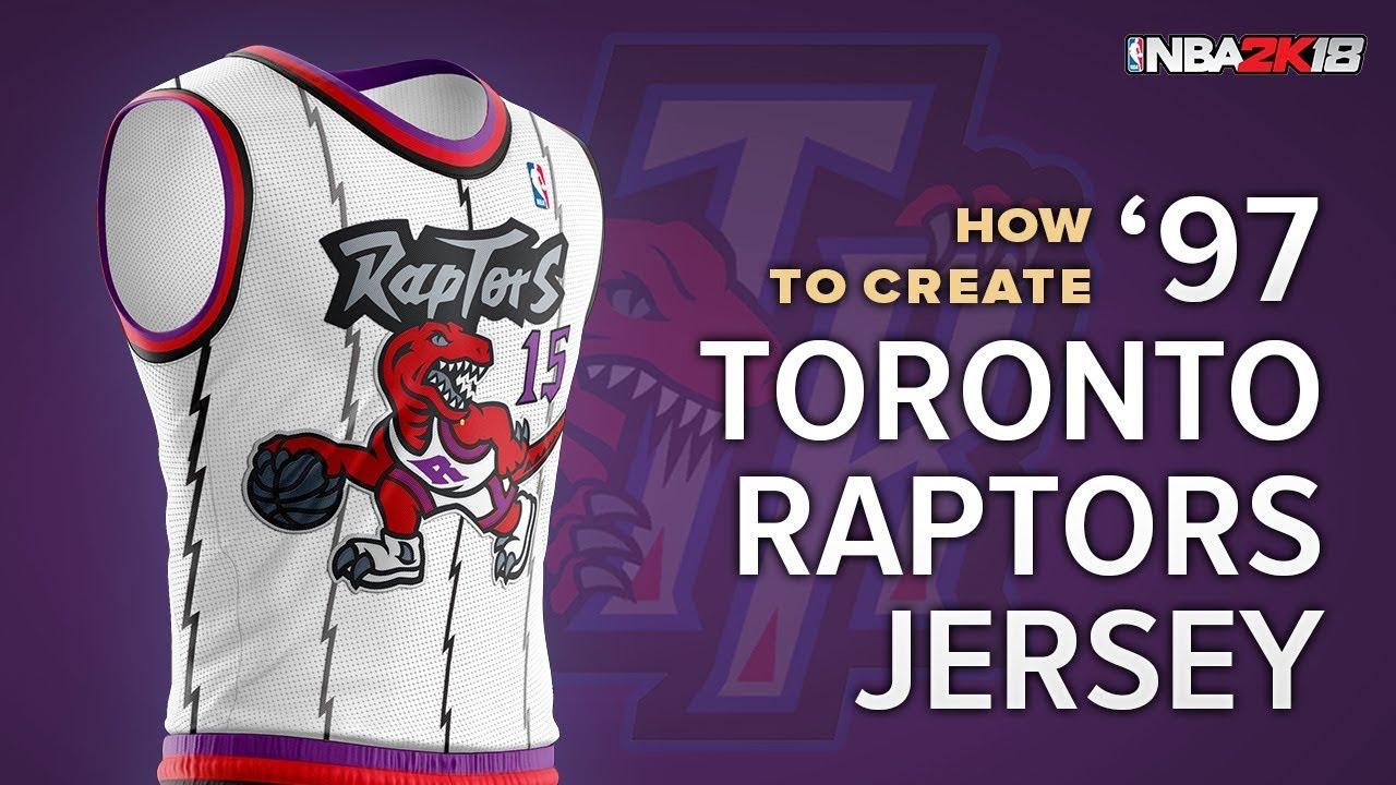 online store 6b88d eb00f NBA 2K | 1997 Toronto Raptors Home Jersey Tutorial