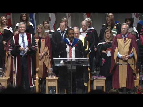 Fall 2016 Convocation Ceremony - John Molson School of Business