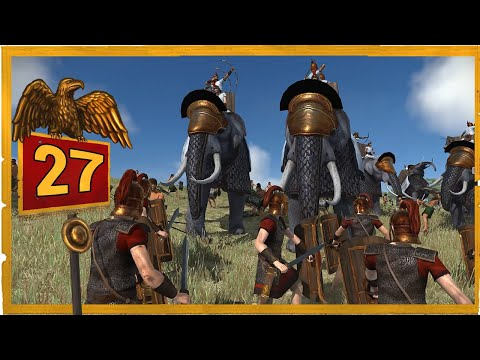 Видео: Дом Юлиев Total War Rome Remastered прохождение за Рим - #27