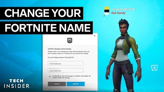 How To Change Your Fortnite Name