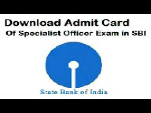 www.sbi.com admit card 2015