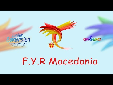 Martija Stanojkovic - Love will lead our way (F.Y.R.Macedonia) Junior Eurovision 2016