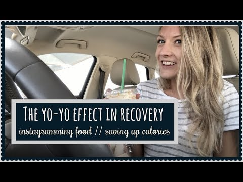 "MY ANOREXIA RECOVERY // yo-yoing // eating alone // ""saving calories up"""