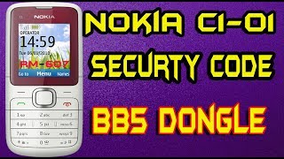 RM-607 Nokia C1-01 Securty Code Reset And Full Flash Best Dongle