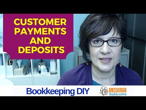 How to enter customer payments and deposits in QuickBooks Online – the correct way