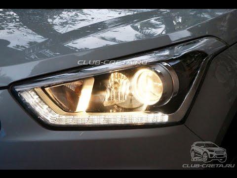 Фары Hyundai Creta ix25 headlight