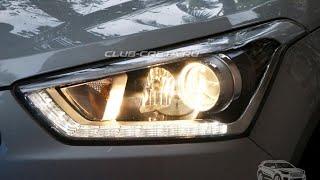 Фары Hyundai Creta ix25 headlight смотреть
