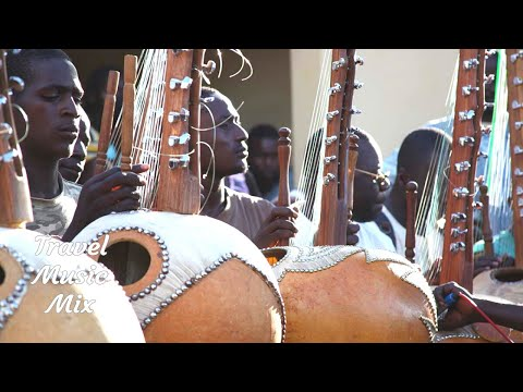 West African Kora and Ngoni Music Mix - 30 minutes - Senegal, Mali