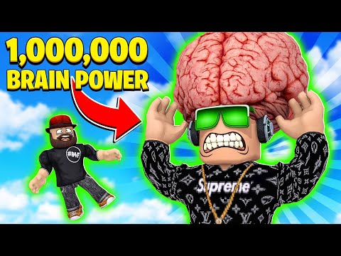 I HAVE THE LARGEST BRAIN In ROBLOX !!