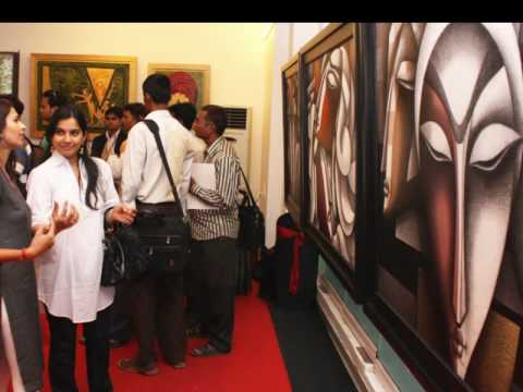 Frangipani Art & Montblanc Indian contemporary & modern art show