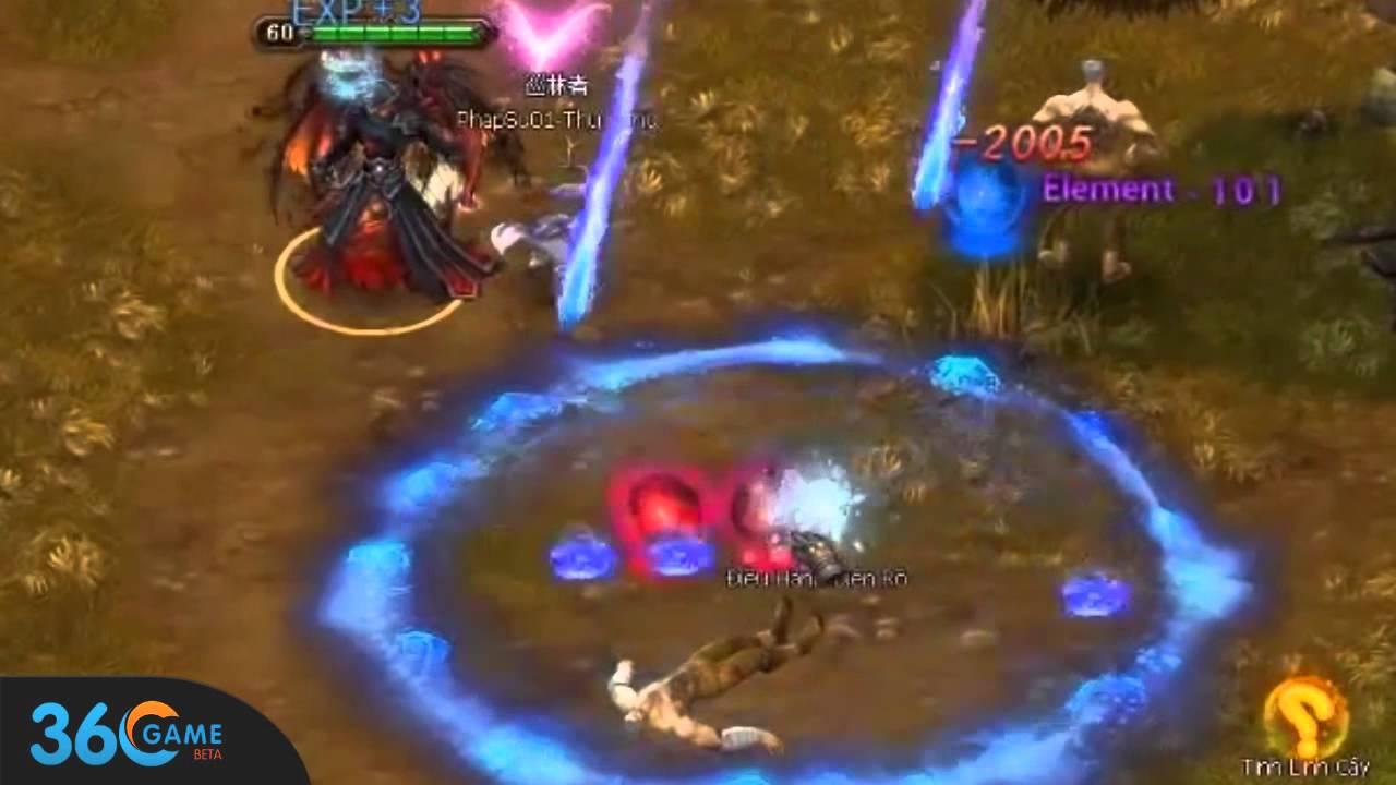 [ 360Game.vn ] Skill Mưa Sao Băng Nhân Vật Pháp Sư – Game Bạo Phong