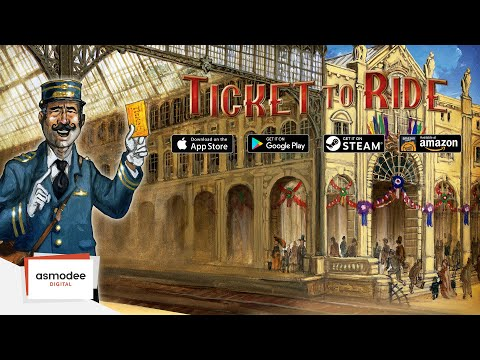 Ticket To Ride (Digital Game) - English Trailer