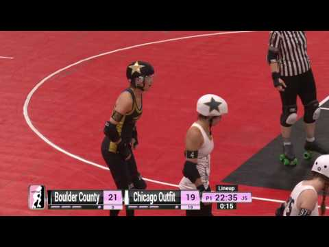 Game 2: Boulder County Bombers v Chicago Outfit Roller Derby