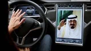 King Abdullah: Let the Women Drive
