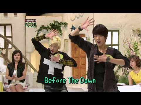 【TVPP】Sungyeol,SungjongINFINITE  Scorpion Dance, 성열,성종인피니트  신곡 'BTD'의 전갈 춤 @ Three Turns