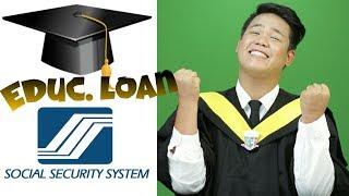 EDUCATIONAL LOAN SA SOCIAL SECURITY SYSTEM ( SSS ) PANO??? ( Bryan Labs )